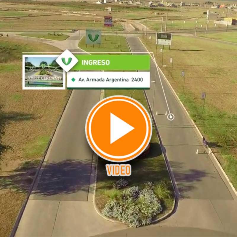 Valle Cercano - Drone mas Animacion 3D