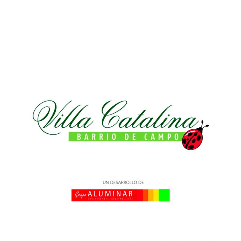 Villa Catalina desde el aire